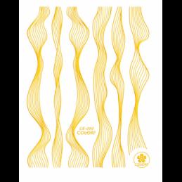 STICKER UNGHII GOLD - CB090